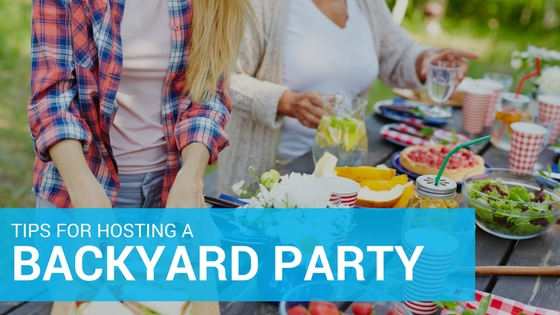 Throwing A Backyard Party Is Great Way To Enjoy The Seasons Weather With Family And Friends
