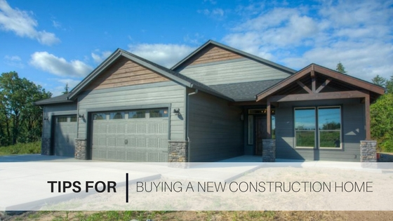 Tips New Construction Home